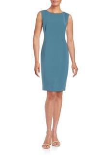 Lafayette 148 New York Solid Sleeveless Dress