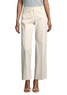 Lafayette 148 New York Solid Wide-Leg Pants