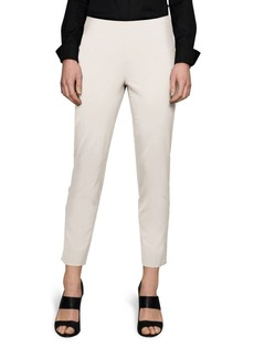 Lafayette 148 New York Stanton Italian Stretch-Wool Pants