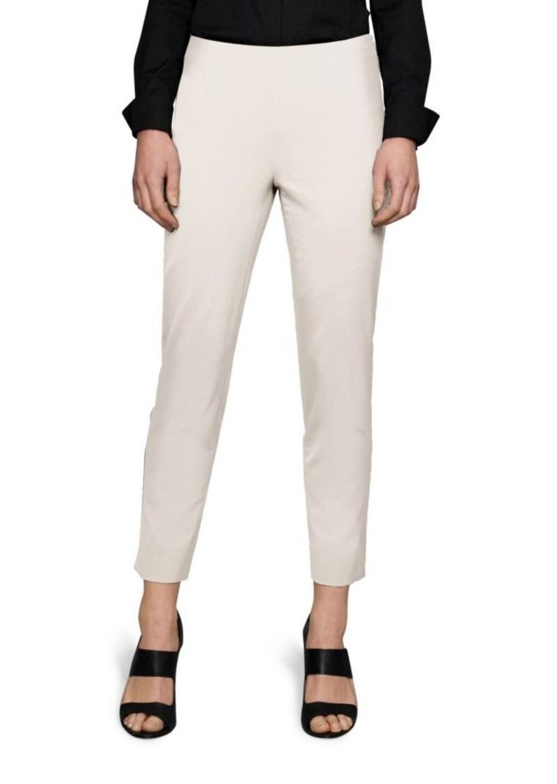 Lafayette 148 Stanton Italian Stretch-Wool Pants