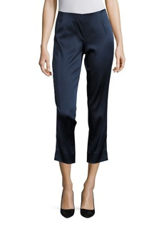 Lafayette 148 New York Belle Stanton Satin Pants