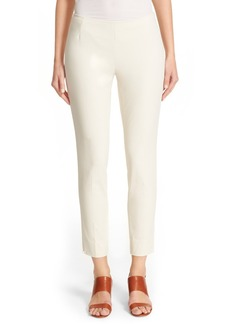 Lafayette 148 New York 'Stanton' Slim Leg Ankle Pants (Regular & Petite)