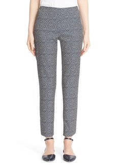 Lafayette 148 New York 'Stanton' Slim Leg Crop Pants (Regular & Petite)