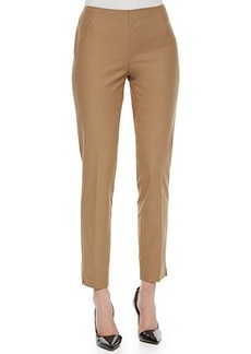 Lafayette 148 New York Stanton Straight-Leg Ankle Pants