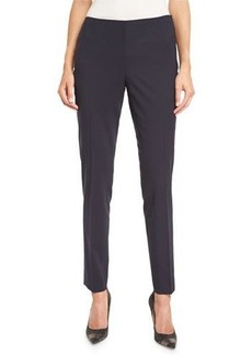 Lafayette 148 New York Stanton Stretch-Wool Cropped Pants
