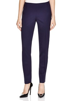 Lafayette 148 New York Stanton Stretch-Wool Seamed Pants