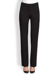 Lafayette 148 New York Stretch-Wool Stanton Pants
