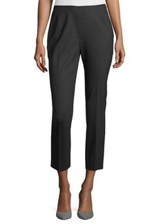 Lafayette 148 New York Straight Leg Crop Pants