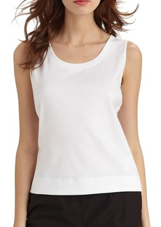 Stretch Cotton Tank