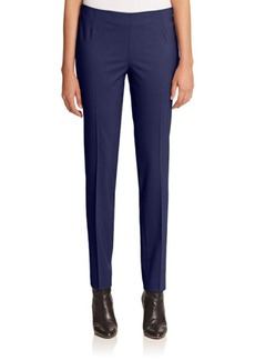 Lafayette 148 New York Striaght-Leg Dress Pants