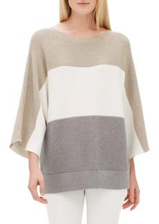 Lafayette 148 New York Stripe Dolman Sweater