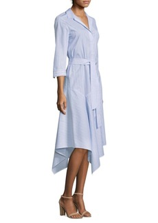 Stripe Handkerchief Shirtdress