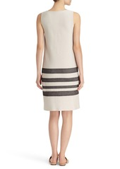 Lafayette 148 New York Stripe Sweater Dress