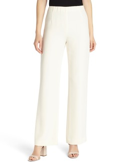 Lafayette 148 New York Studio Stretch Silk Pants