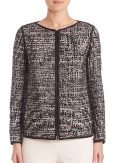 Lafayette 148 New York Studio Tweed Keaton Jacket