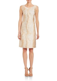 Lafayette 148 New York Sunrise Jacquard Rosalind Dress