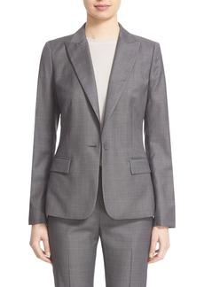 Lafayette 148 New York 'Susan' Modern Fit Suit Blazer