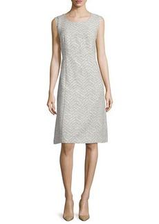 Lafayette 148 New York Sylvia Sleeveless Sheath Dress