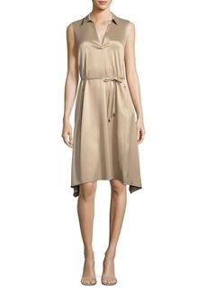 Lafayette 148 New York Sylvie Collared Silk Dress