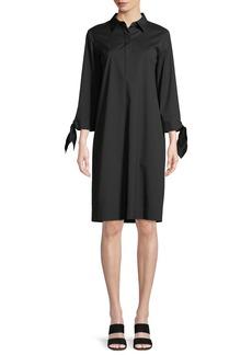 Lafayette 148 Talia Stretch-Cotton Dress
