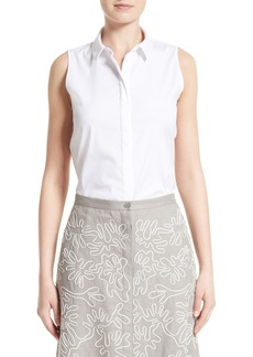 Lafayette 148 New York Talitha Sleeveless Blouse