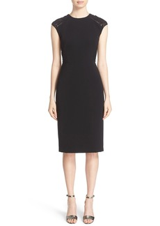 Lafayette 148 New York 'Talon' Tech Cloth Dress