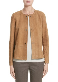 Lafayette 148 New York Tansy Suede Jacket (Nordstrom Exclusive)