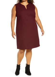 Lafayette 148 New York Taren Shift Dress (Plus Size)