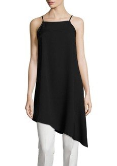 Lafayette 148 New York Taylor Silk Asymmetrical Blouse