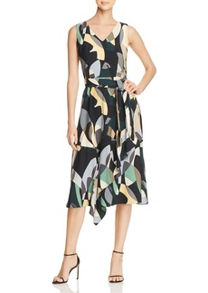 Lafayette 148 New York Telson Abstract Print Dress