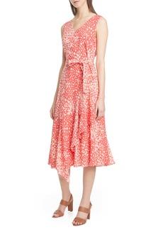 Lafayette 148 New York Telson Silk Midi Dress