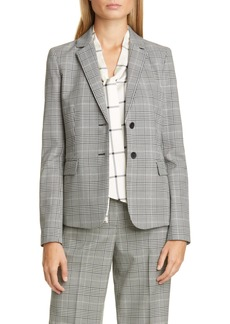 Lafayette 148 New York Thatcher Stretch Wool Blazer
