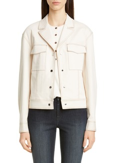 Lafayette 148 New York Theodosia Denim Jacket
