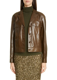 Lafayette 148 New York Theodosia Leather Jacket