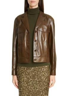 Lafayette 148 New York Theodosia Leather Jacket