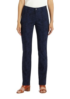 Lafayette 148 New York Thompson Abstract Jacquard Jeans (Ink)