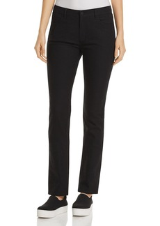 Lafayette 148 New York Thompson Chevron-Textured Jeans in Black