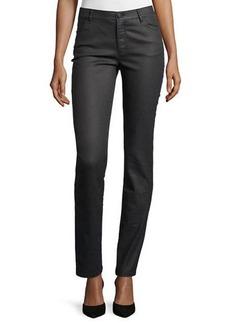 Lafayette 148 New York Thompson Curvy Herringbone Slim-Leg Jeans