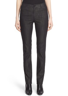 Lafayette 148 New York Thompson Jean Curvy Fit Stretch Slim Leg Jeans (Nordstrom Exclusive)