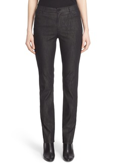 Lafayette 148 New York Thompson Jean Curvy Fit Stretch Slim Leg Jeans (Nordstrom Exclusive)