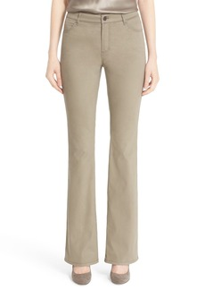 Lafayette 148 New York 'Thompson' Stretch Bootcut Pants