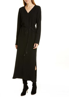 Lafayette 148 New York Thurmen Belted Long Sleeve Dress