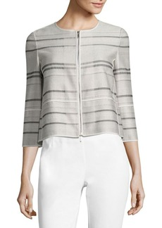 Lafayette 148 New York Tilda Striped Jacket