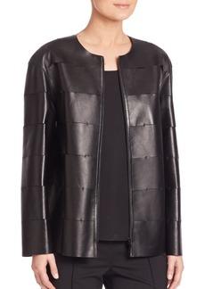 Tissue Weight Leather Murphy Jacket