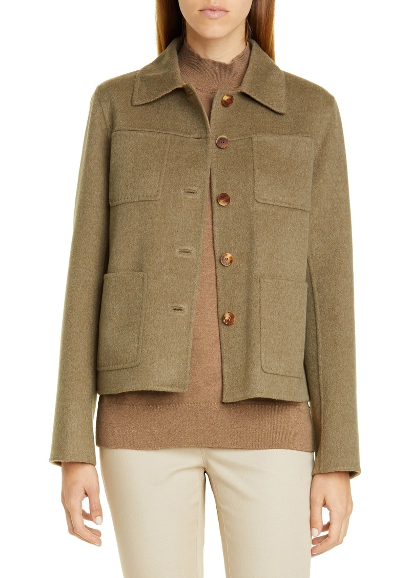 Lafayette 148 New York Tomasa Double Face Jacket