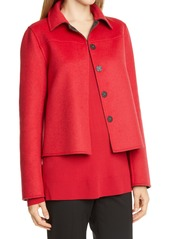 Lafayette 148 New York Tomasa Double Face Wool & Cashmere Jacket