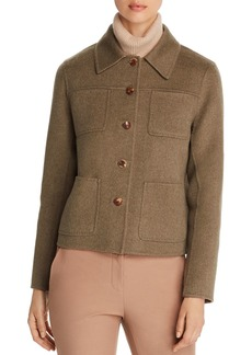 Lafayette 148 New York Tomasa Wool & Cashmere Short Jacket