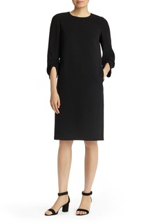 Lafayette 148 New York Tory Finesse Crepe Dress