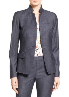 Lafayette 148 New York 'Tristan' One-Button Suit Blazer
