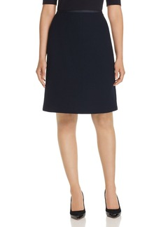 Lafayette 148 New York Tula A-Line Mini Skirt